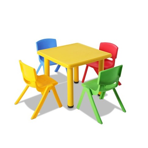 5 piece kids table and chair set